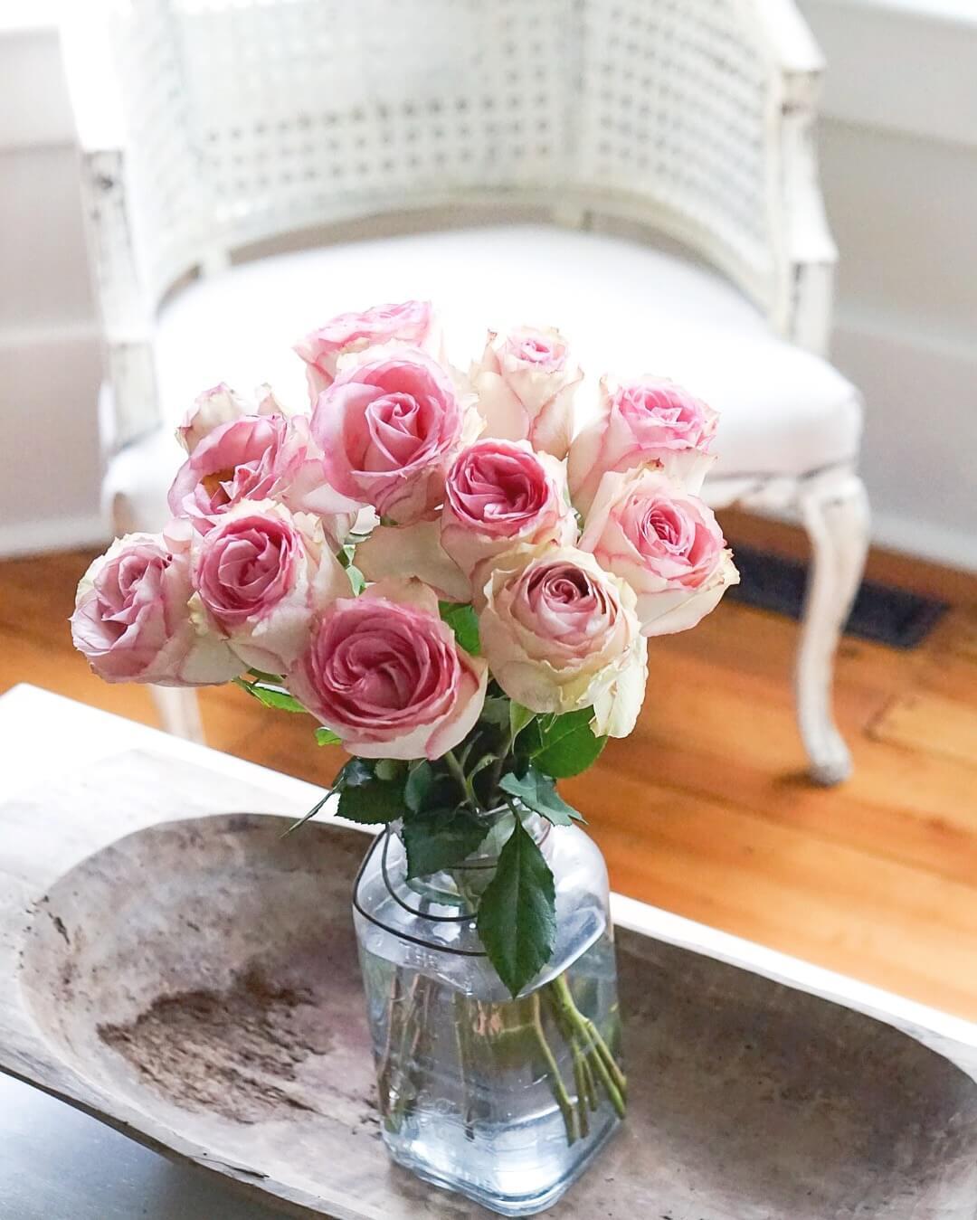 pink-roses-mason-jar-dough-bowl-refinished-arm-chair