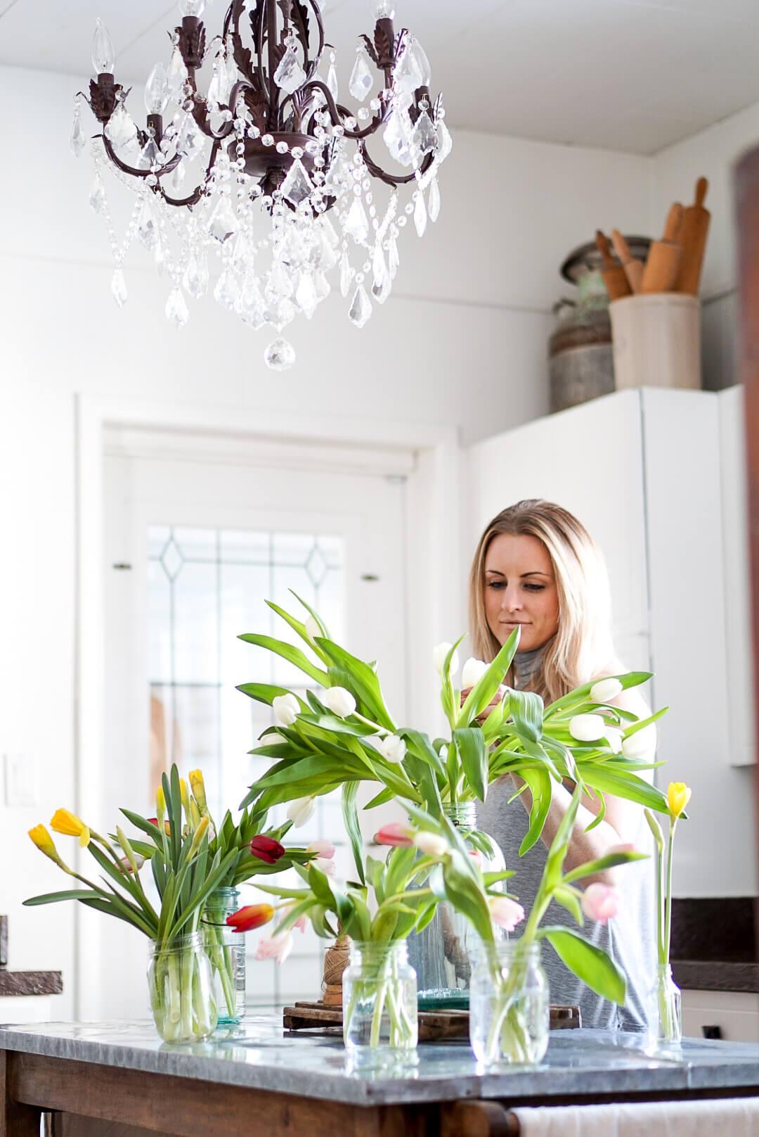 homemade flower food hacks to help fresh cut flowers last longer