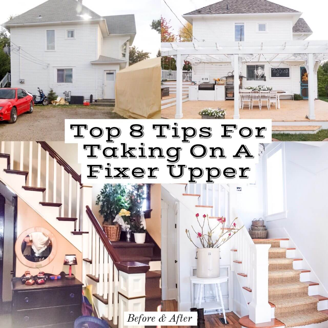 Top 8 Must Know Tips For Taking On A Fixer Upper