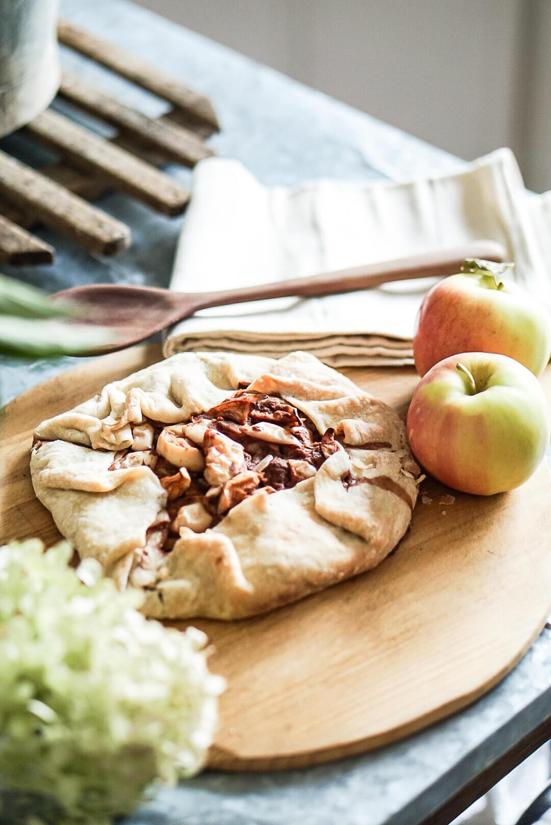 autumn apple tart recipe