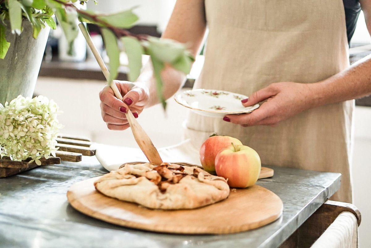 Autumn Apple Pie Tart