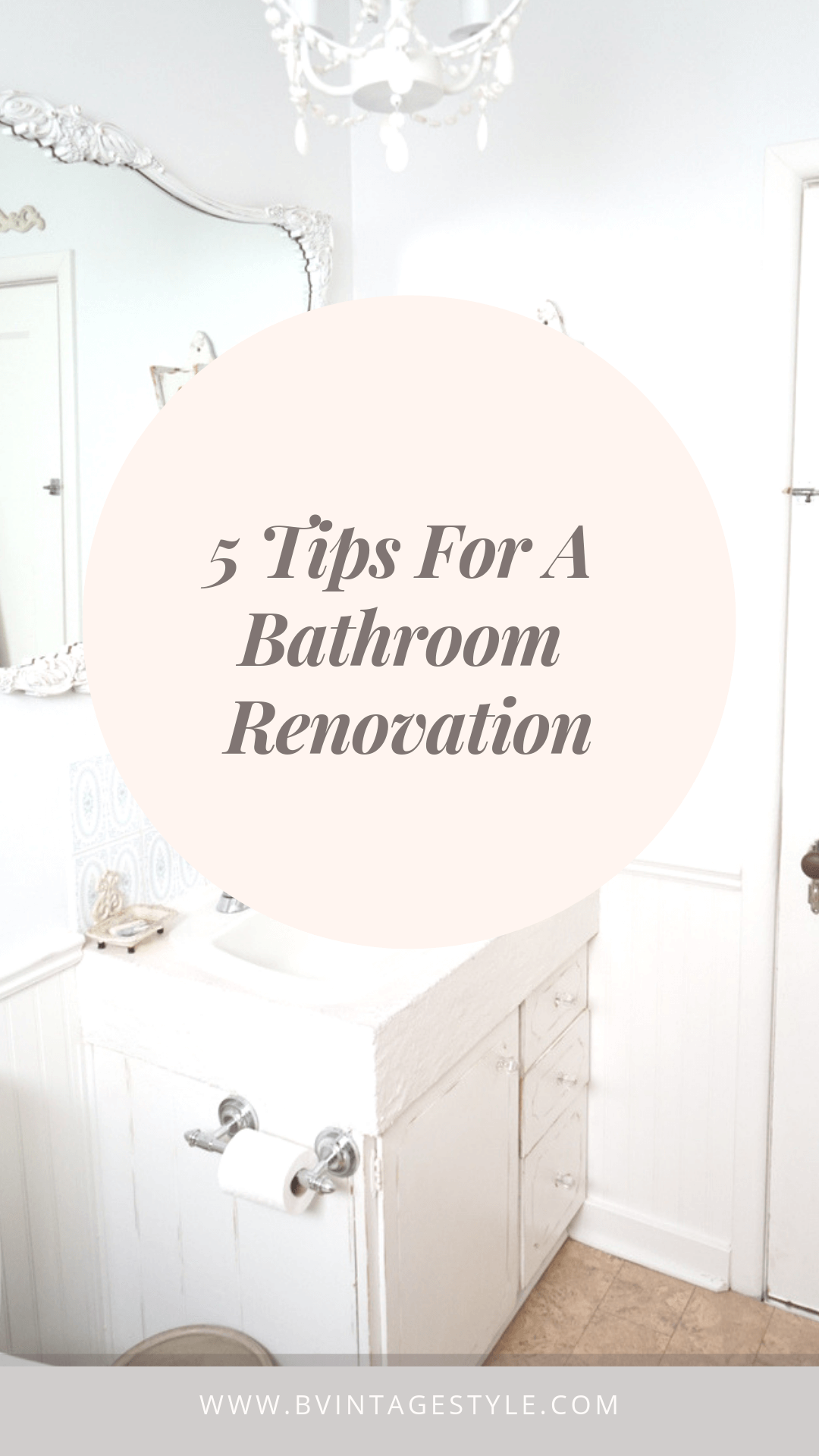 tiny bathroom tips