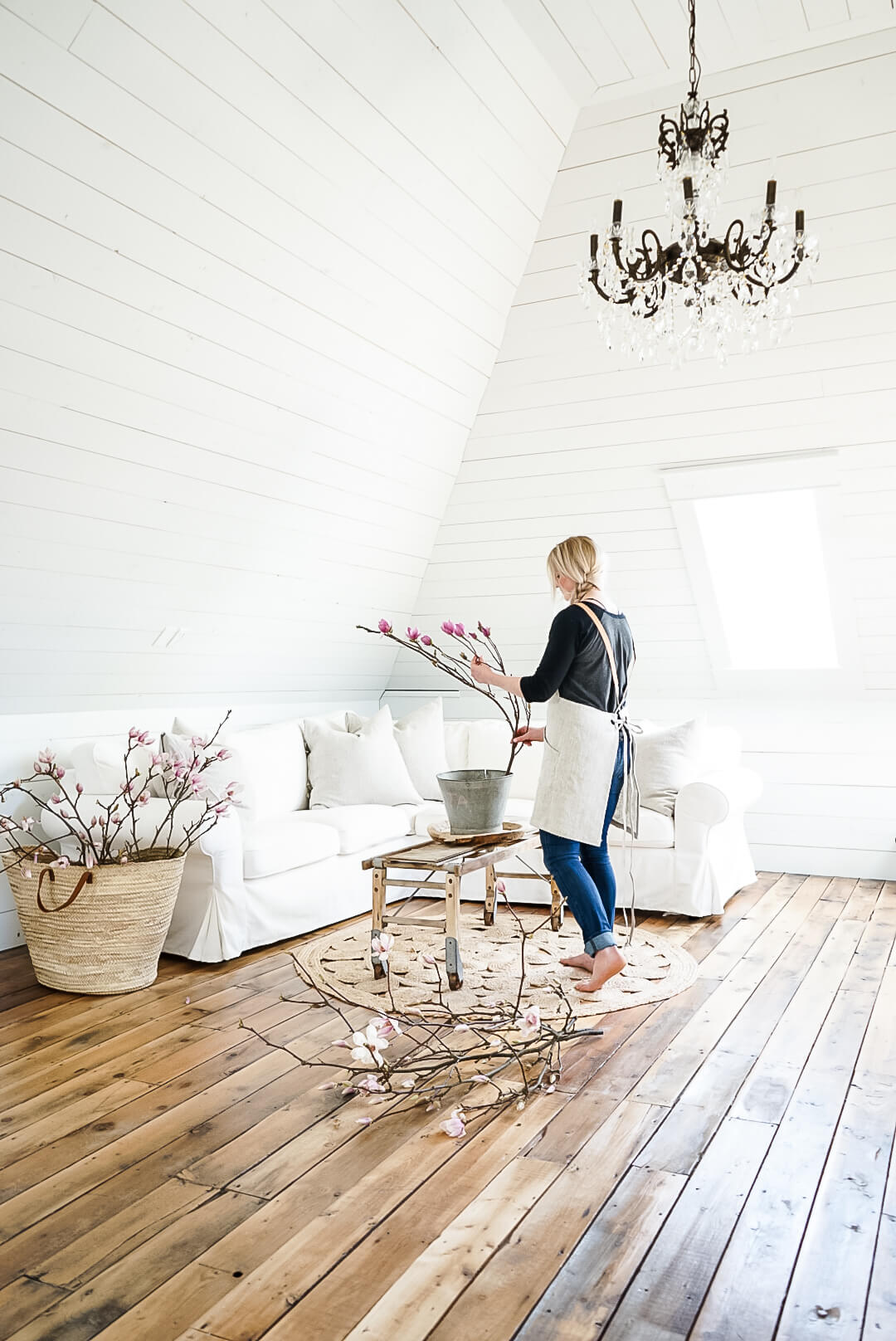 happy home shiplap white attic photo studio