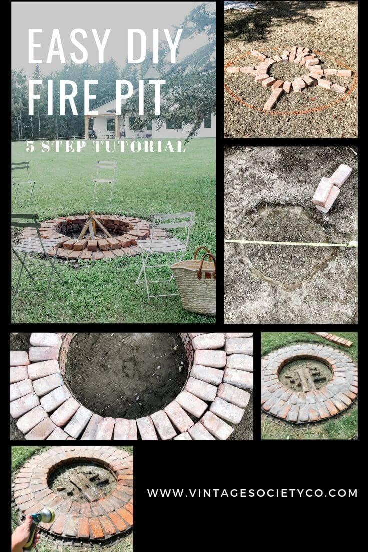Fire pit tutorial