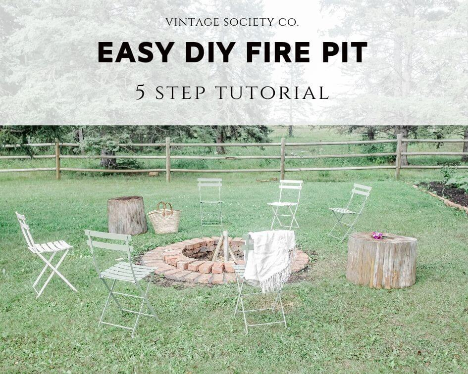 Easy DIY Fire Pit: 5 Step Tutorial