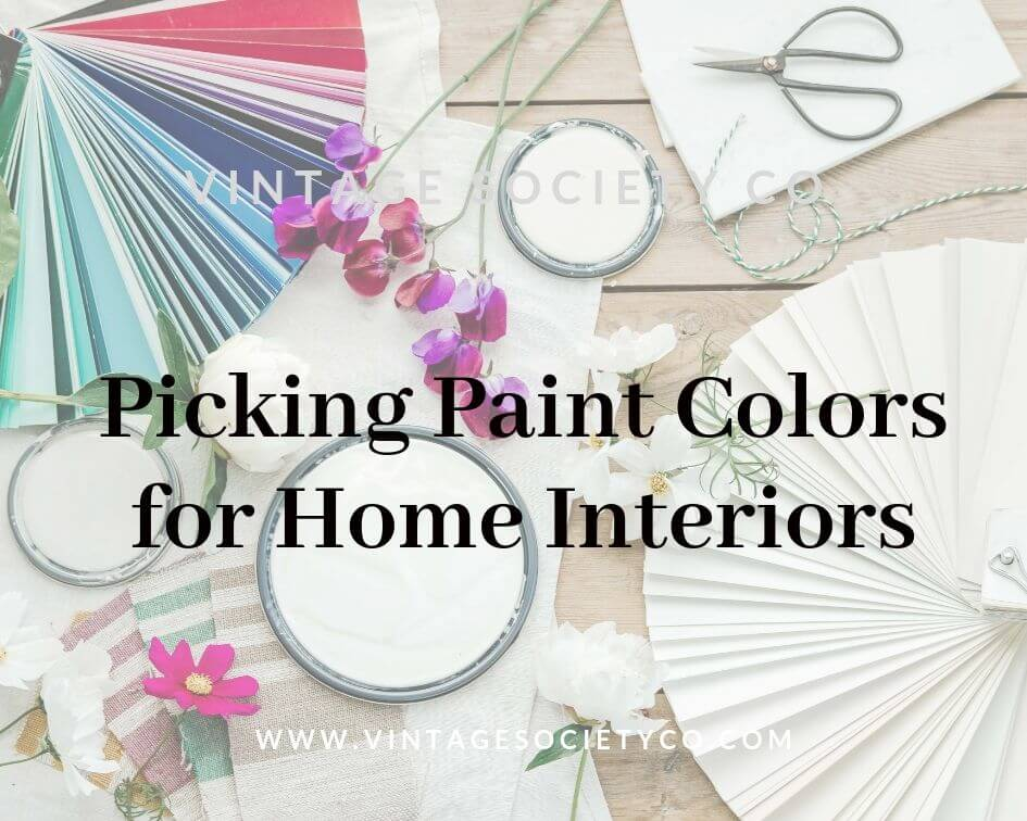 Picking Paint for Home Interiors