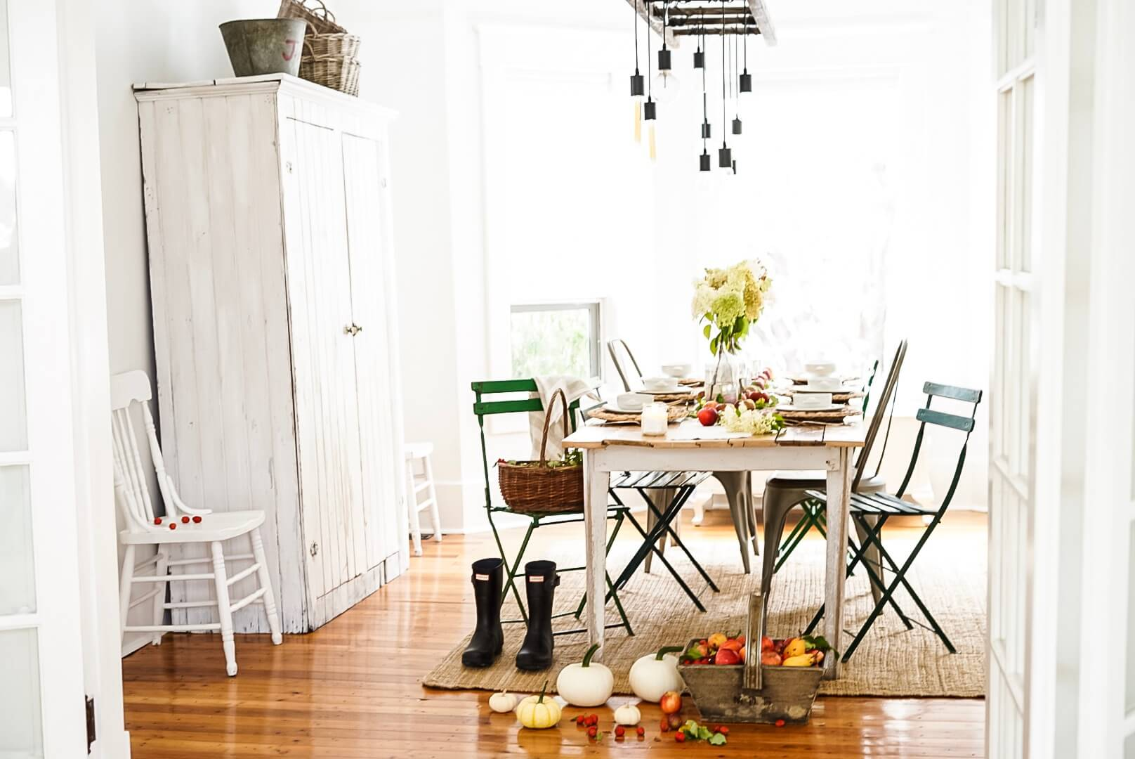 Table Centrepieces dining room