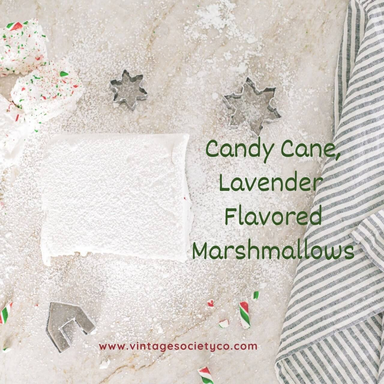 Lavender Flavored Marshmallows