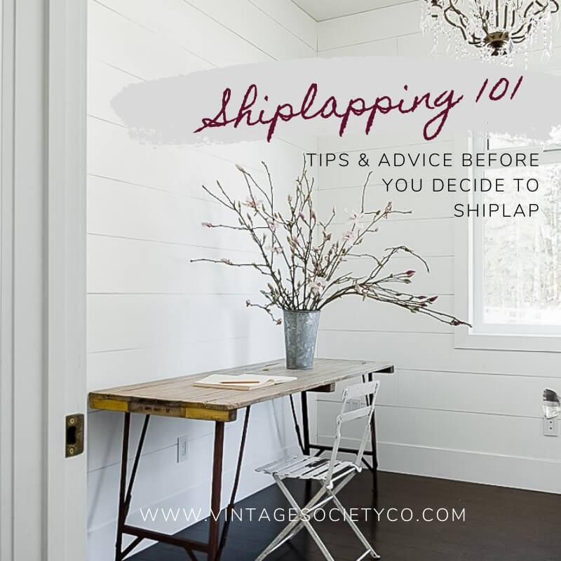 DIY Shiplap Tips and Advice