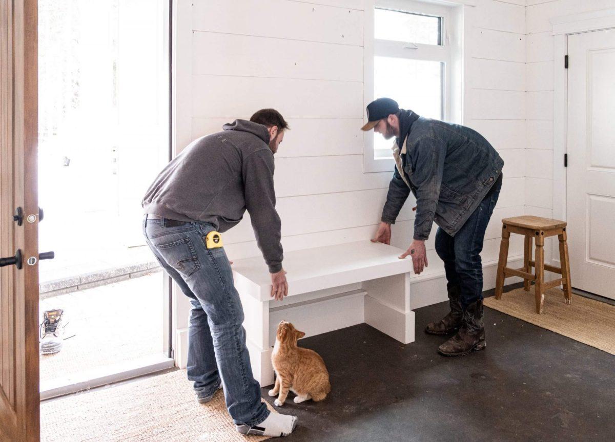 Installing Quartz Benches