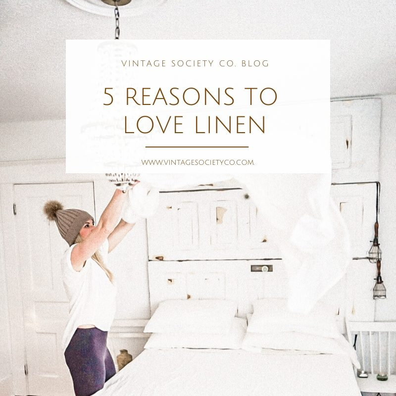 5 Reasons to love Linen Sheets