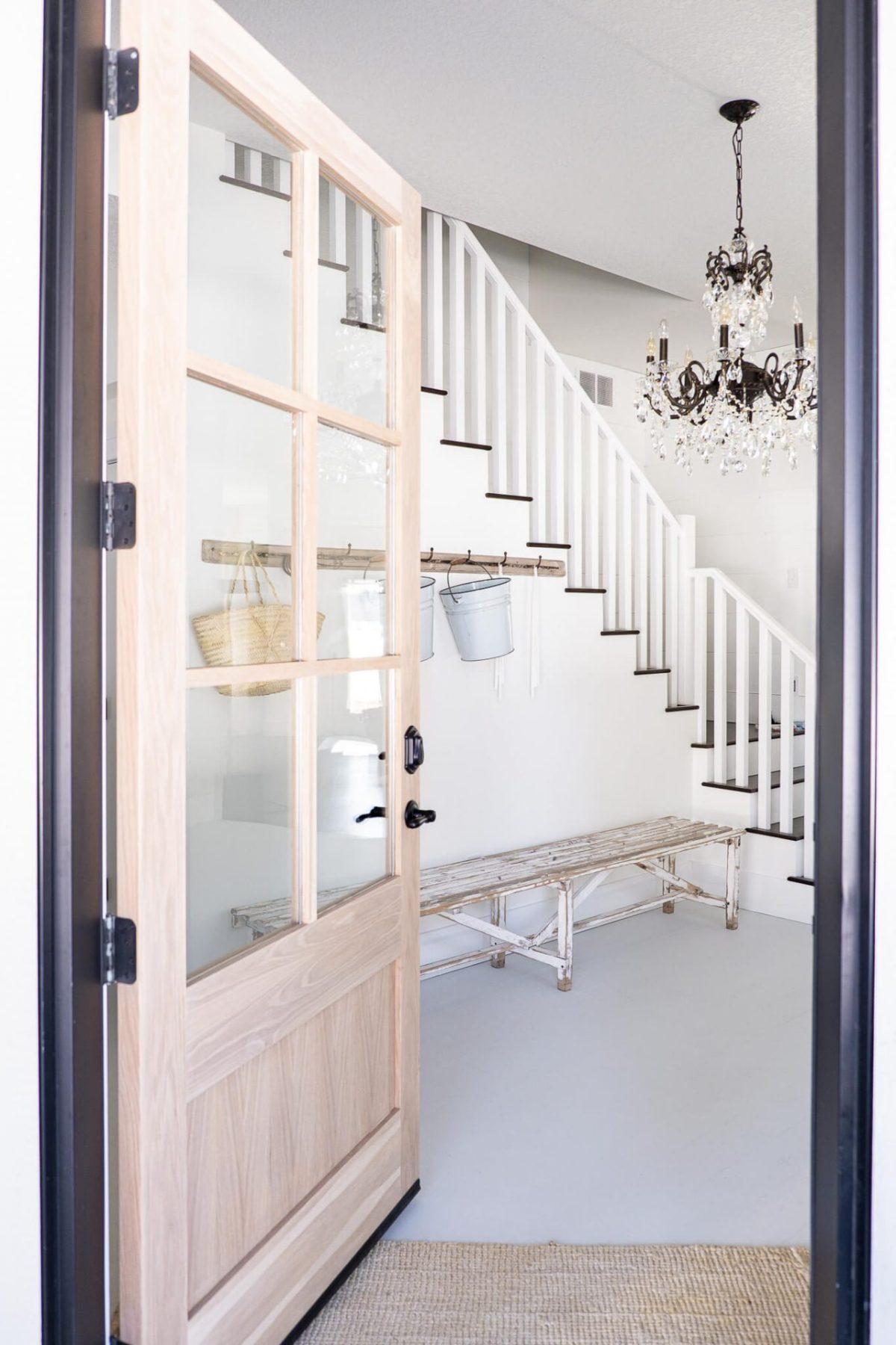 Solid Wood Door Opening