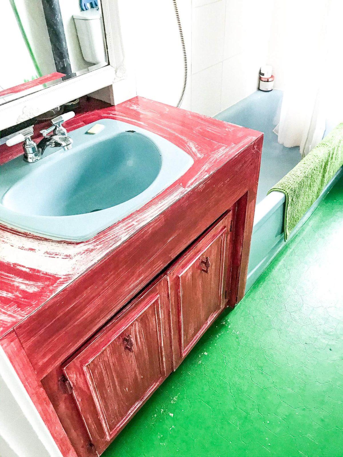 bad bathroom renovation vanity
