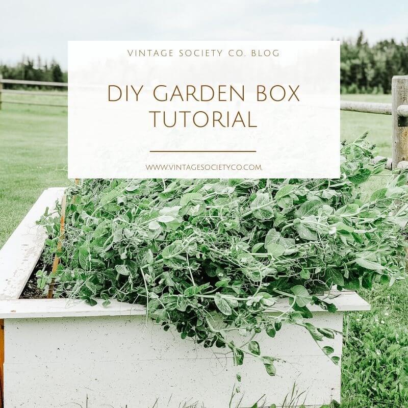 Raised Planter Box tutorial