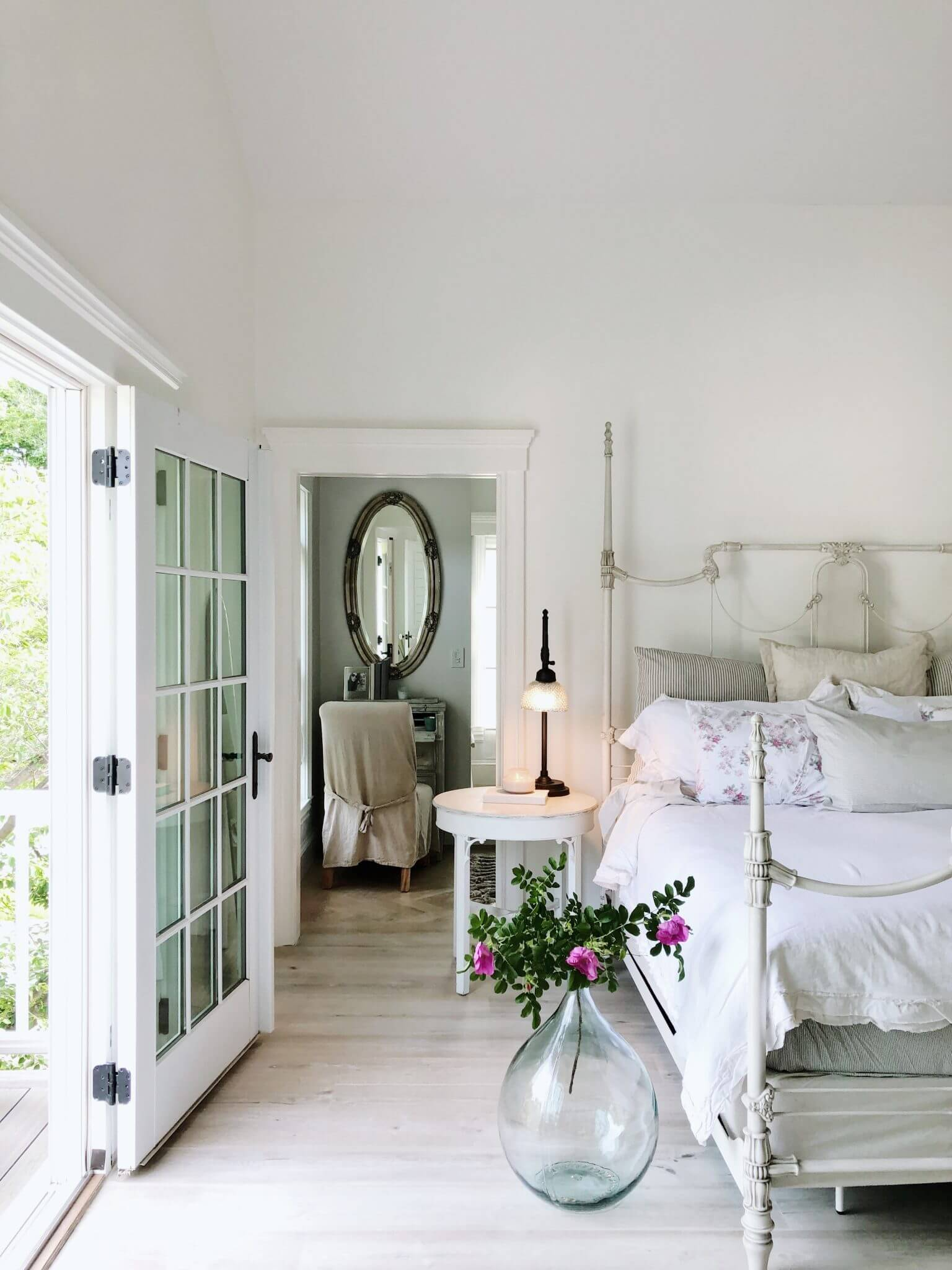refinishing furniture with featherglass for master bedroom
