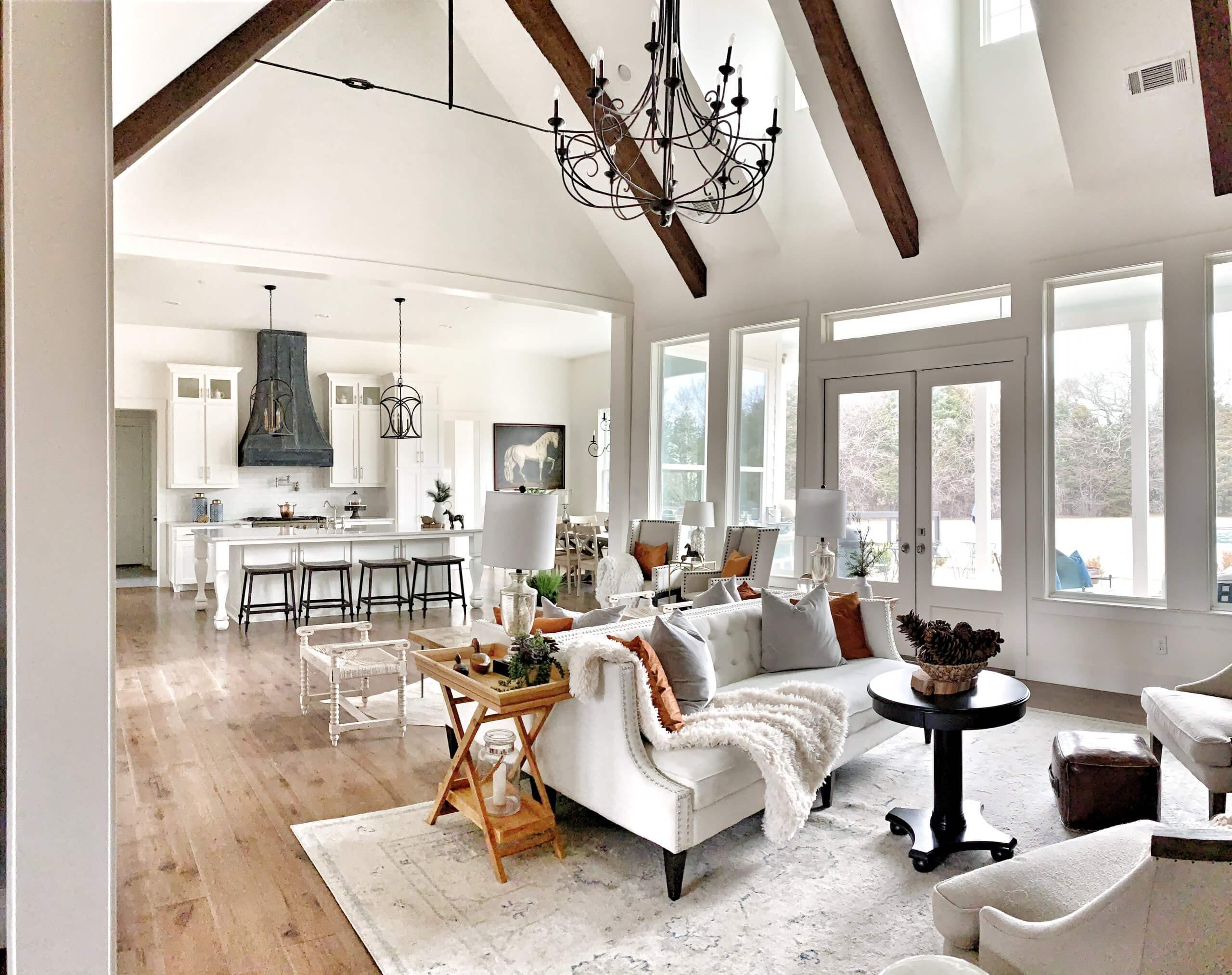 Thistle Hill Ranch and Home Open Concept