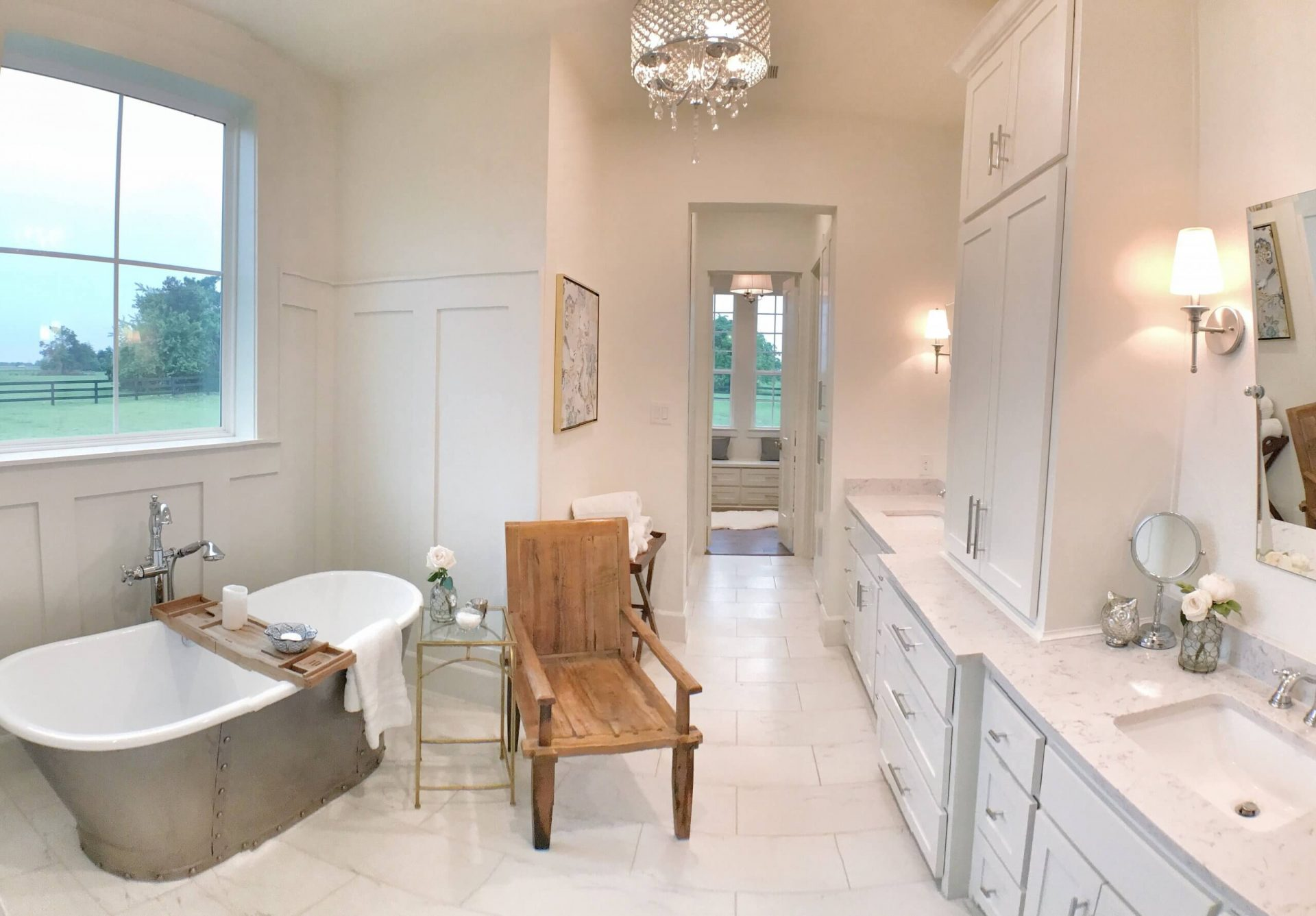 Thistle Hill Ranch and Home Master Bedroom Ensuite