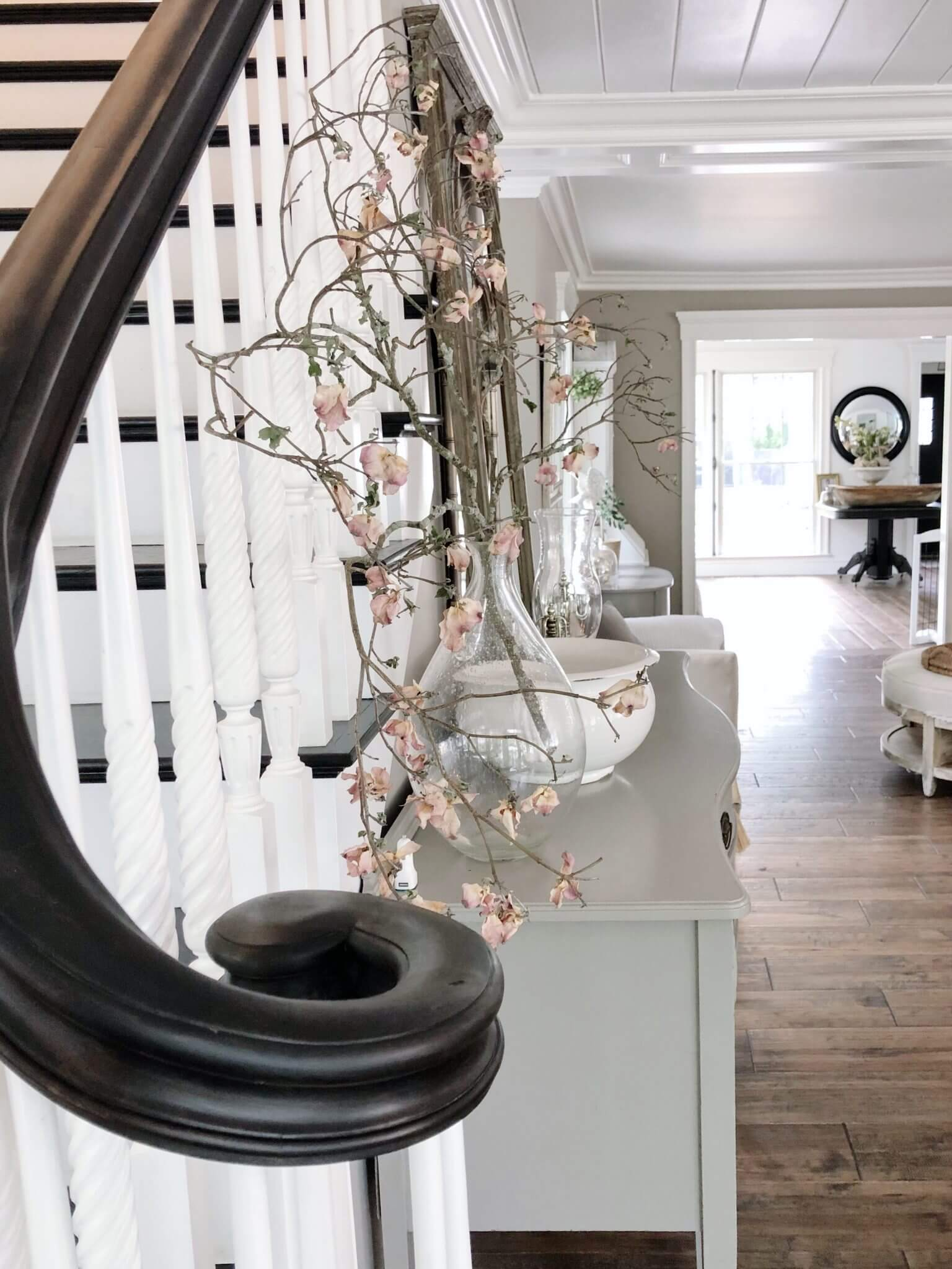 Featheglass Front Entry Staircase Railing
