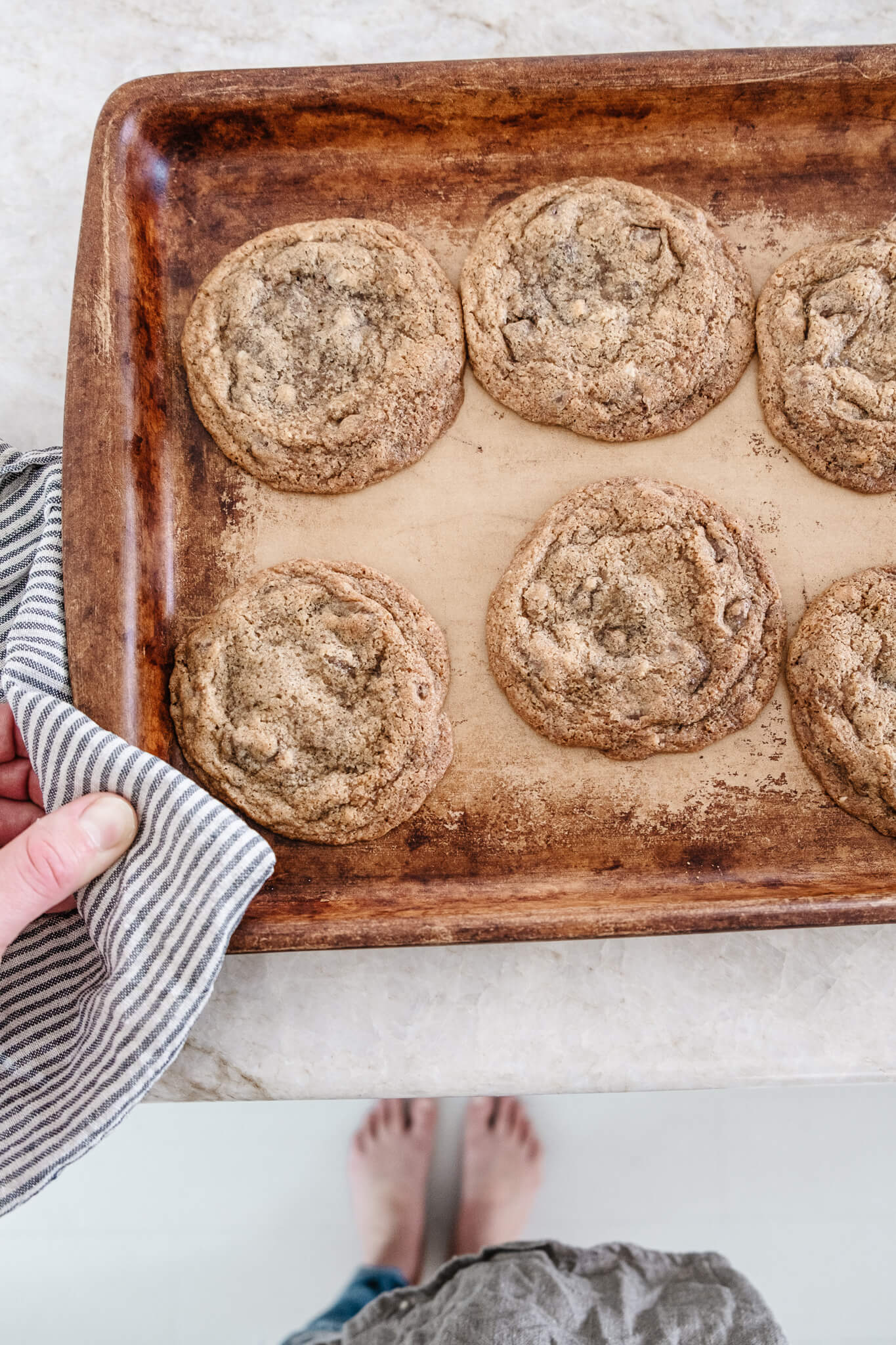 Fresh Baked Easy Chocolate Chip Cookie Recipe