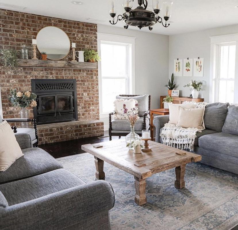 Sugar Maple Farmhouse living room